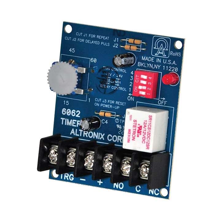 AL6062 ALTRONIX 12/24 VDC 1 SECOND TO 1 HOUR TIMER