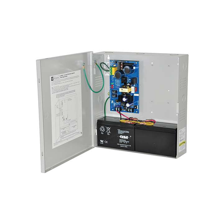 AL300ULX ALTRONIX UL LISTED FIRE, BURG, ACCESS CONTROL POWER SUPPLY IN LARGE ENCLOSURE 12/24VDC @ 2.5 AMP