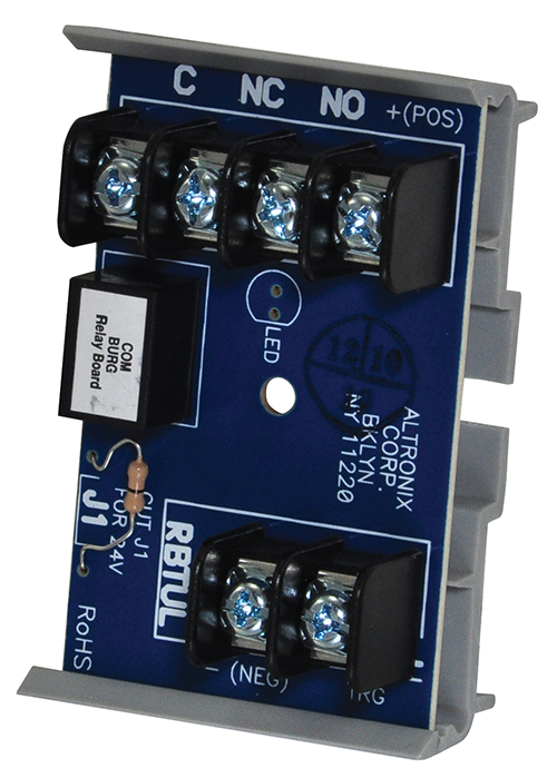 RBTUL ALTRONIX UL LISTED RELAY MODULE W/ ULTRA SENSITIVE TRIGGER AND SNAP TRAC MOUNTING 12/24VDC ************************* SPECIAL ORDER ITEM NO RETURNS OR SUBJECT TO RESTOCK FEE *************************