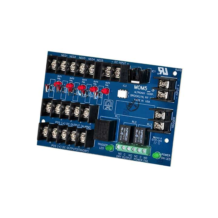 MOM5 ALTRONIX MULTI OUTPUT SUPPLY INTERFACE FOR ACCESS CONTROL APPLICATION ************************* SPECIAL ORDER ITEM NO RETURNS OR SUBJECT TO RESTOCK FEE *************************