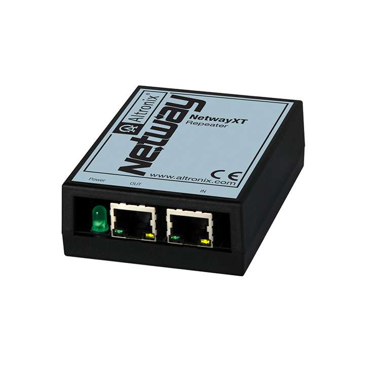 NETWAYXT ALTRONIX REPEATER EXTENDS ETHERNET AND POE AND ADDITIONAL 100M (328 FT), UL/CUL LISTED (UL60950-1)