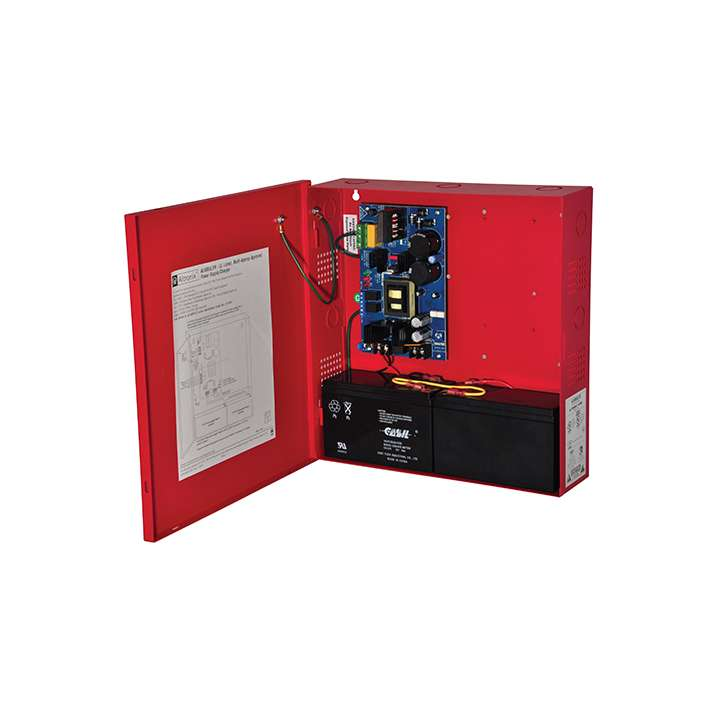 AL600ULXR ALTRONIX UL LISTED FIRE & ACCESS CONTROL POWER SUPPLY IN LARGE RED ENCLOSURE 12/24VDC @ 6 AMP ************************* SPECIAL ORDER ITEM NO RETURNS OR SUBJECT TO RESTOCK FEE *************************