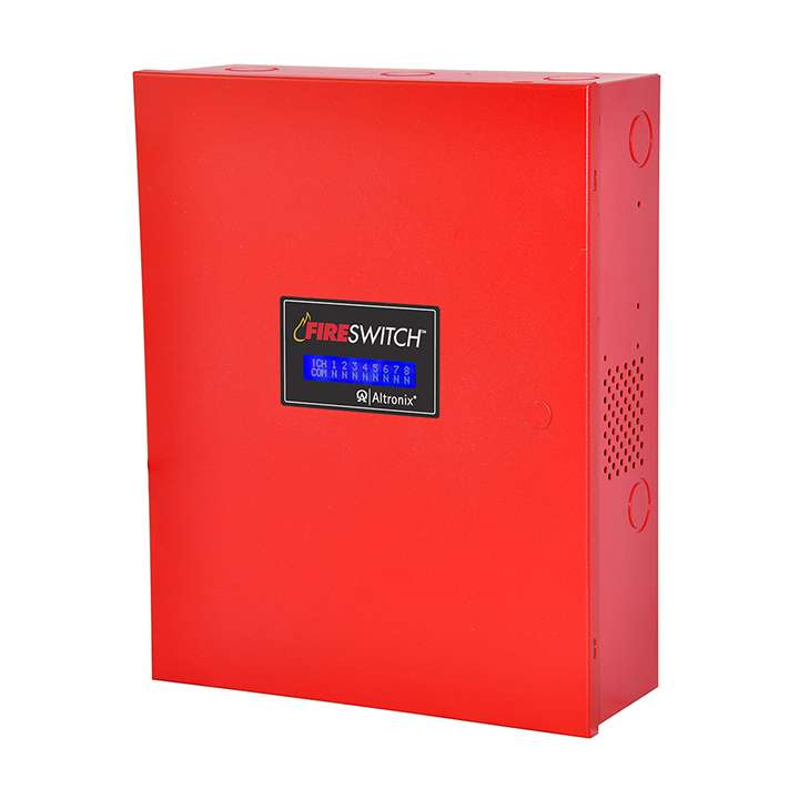 FIRESWITCH108 ALTRONIX NAC POWER EXTENDER 10A 24VDC 4 CLASS A 8 CLASS B BUILT IN SNYC RED ************************* SPECIAL ORDER ITEM NO RETURNS OR SUBJECT TO RESTOCK FEE *************************