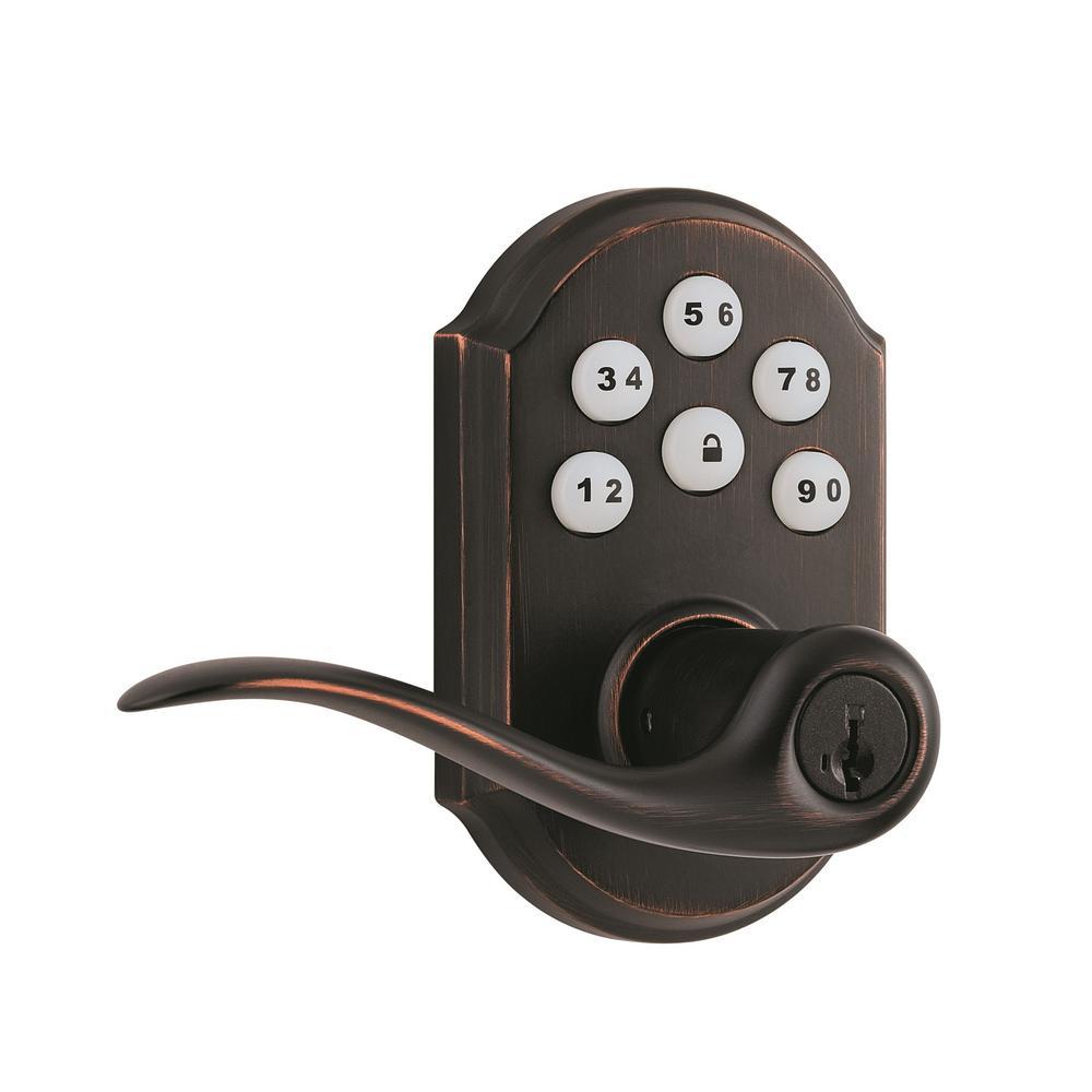 99120-038 KWIKSET SmartCode Z-Wave Lever Satin Nickel