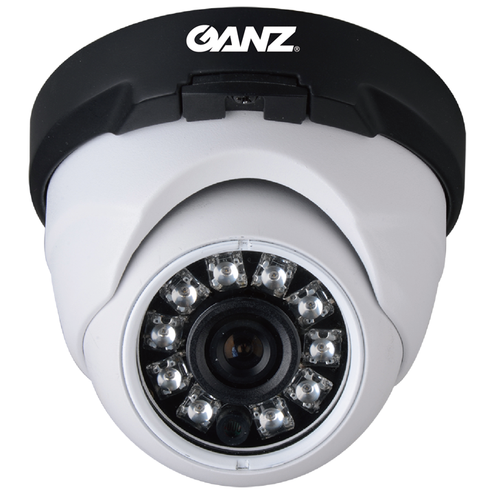 Z8-M4NTFN4LAN GANZ AHD Outdoor Dome (TURRET) 1080p, 3.6mm, 12VDC, True DN, 24 IR LED ************************* SPECIAL ORDER ITEM NO RETURNS OR SUBJECT TO RESTOCK FEE *************************