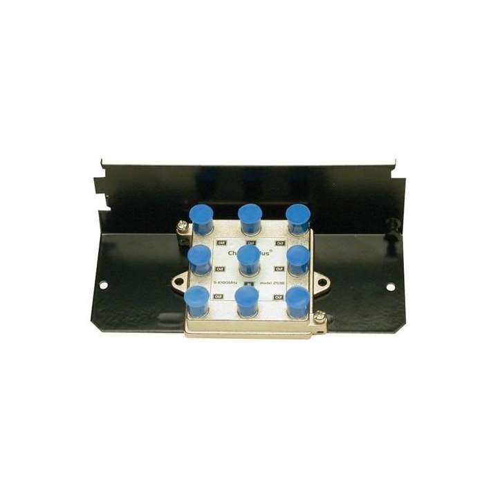 H808 CHANNEL PLUS OPEN HOUSE 8-WAY SPLITTER GRID MOUNT