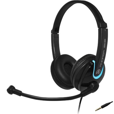 AND-C1-1030000-25 ANDREA EDU-255M ON-EAR STEREO MOBILE HEADSET