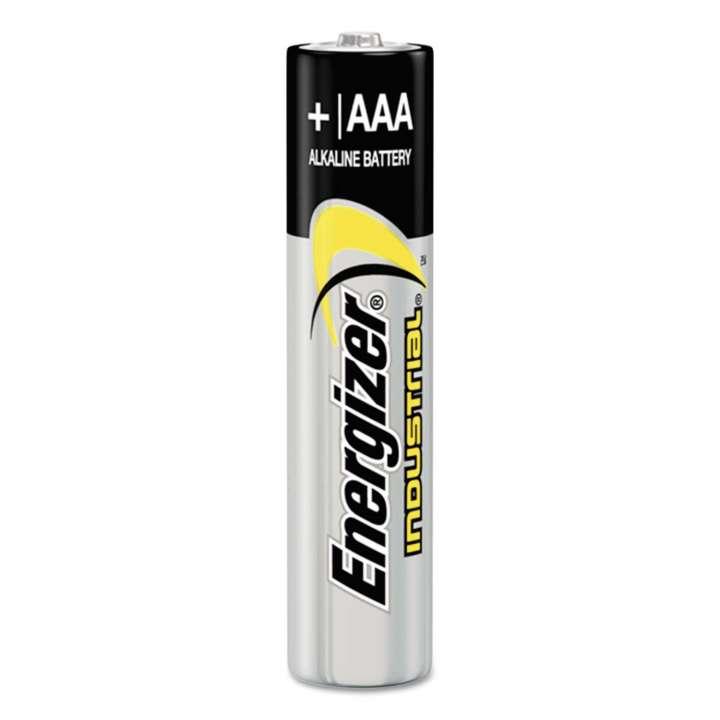 EVE-EN92 ENERGIZER AAA INDUSTRIAL ALKALINE BATTERIES 24PER BOX