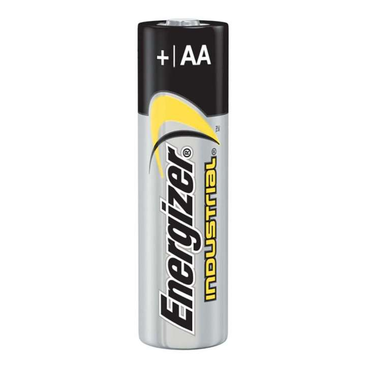 EVE-EN91 ENERGIZER AA INDUSTRIAL ALKALINE BATTERIES 24 PER BOX