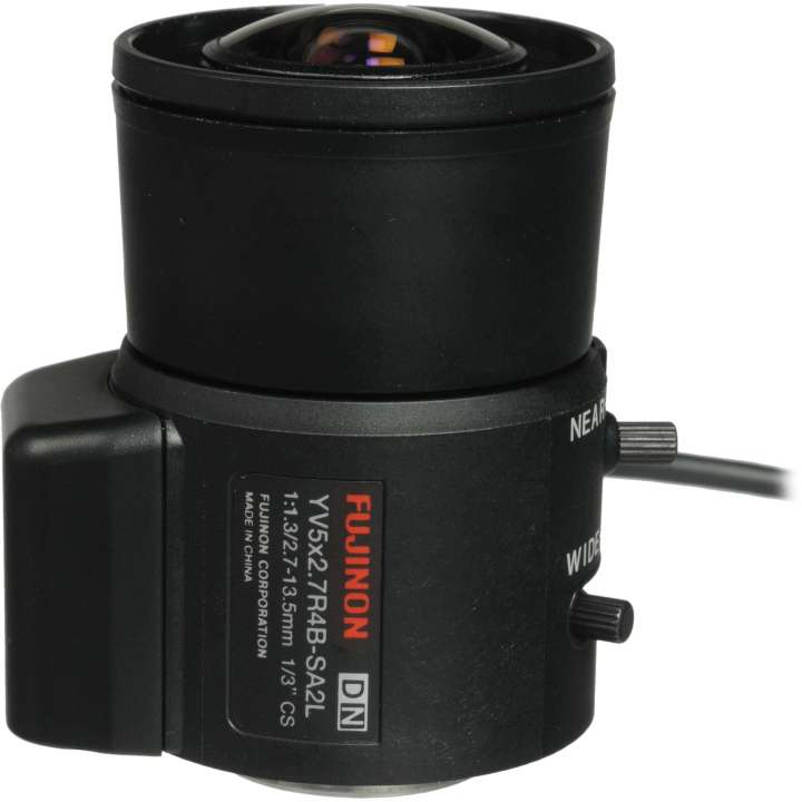 YV5X2.7R4B-SA2L FUJINON WIDE RANGE VARI-FOCAL - 2.7-13.5MM AUTO - FOR DAY & NIGHT CAMERA ************************* SPECIAL ORDER ITEM NO RETURNS OR SUBJECT TO RESTOCK FEE *************************