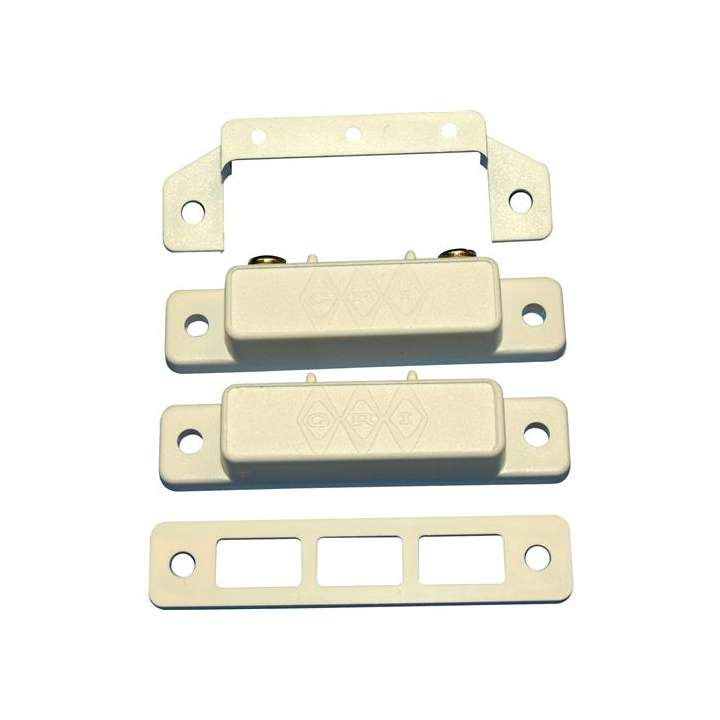 29A-WW/1K GRI 29A SERIES MAG SWITCH SET WITH 1 RESISTORS INSTALLED - WHITE #108828 ************************* SPECIAL ORDER ITEM NO RETURNS OR SUBJECT TO RESTOCK FEE *************************