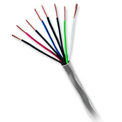 11095509 GENESIS CABLE 22/8 STRANDED UNSHIELDED CM/CL2 500' PULL BOX GRAY ************************* SPECIAL ORDER ITEM NO RETURNS OR SUBJECT TO RESTOCK FEE *************************