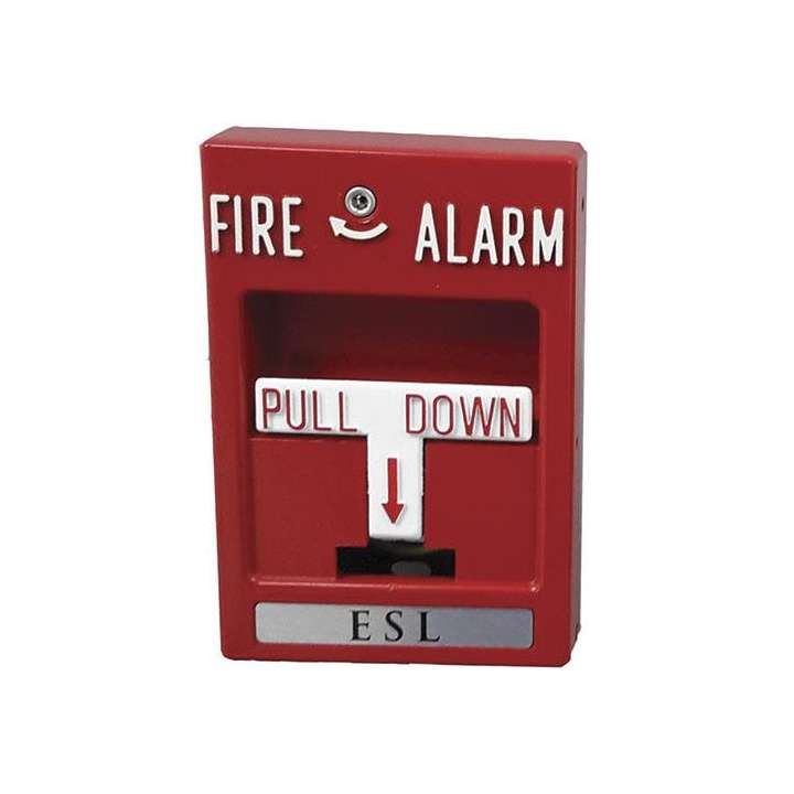103-20 UTC SINGLE ACTION (SPST) MANUAL FIRE ALARM STATION W/HEX RESET