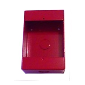 103-25 UTC RED SURFACE BACKBOX FOR 103-20 THRU 103-42 ************************* SPECIAL ORDER ITEM NO RETURNS OR SUBJECT TO RESTOCK FEE *************************