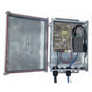 KBC-SPB-4AF-24 KBC POWER KIT PROVIDING POE FOR (4) 802.3 AT IP CAMERA AND (1) 24V POE ANTENNA. NEMA 4X CAST ENCLOSURE WITH POLE MOUNT. ************************* SPECIAL ORDER ITEM NO RETURNS OR SUBJECT TO RESTOCK FEE *************************