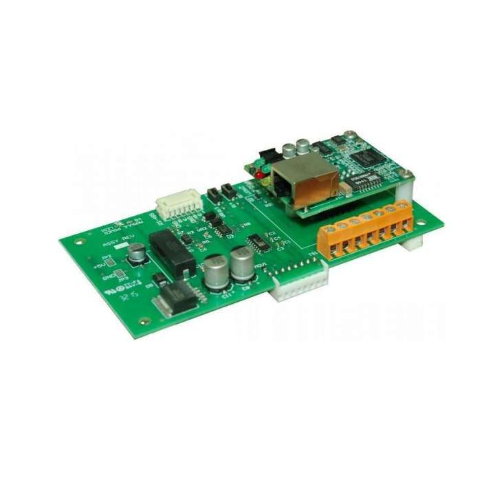 SEG-M LINEAR SECURED ETHERNET GATEWAY [PLUG-IN] MODULE CONVERTS TCP/IP TO SERIAL DATA ENABLING IEI ACCESS SYSTEMS TO USE A NETWORK TO SECURELY SEND AND RECIEVE DATA; 0-296006