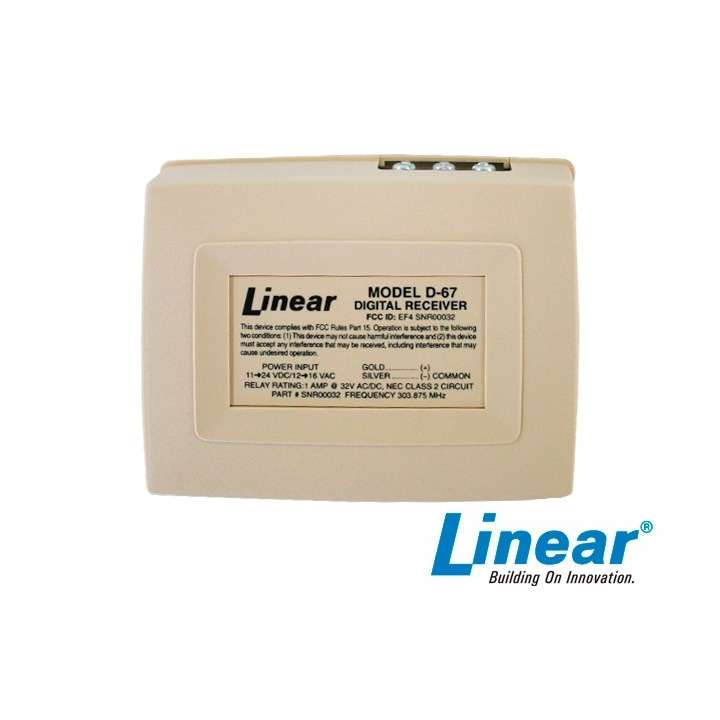 D-67 LINEAR 1 CHANNEL RELAY OUTPUT ************************* SPECIAL ORDER ITEM NO RETURNS OR SUBJECT TO RESTOCK FEE *************************