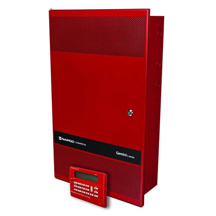 GEMC-FW-128KT NAPCO GEMC 128 Point Commercial Fire Alarm Panel Kit