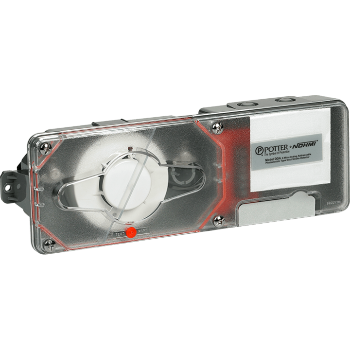 DDA POTTER ADDRESSABLE DUCT DETECTOR ************************* SPECIAL ORDER ITEM NO RETURNS OR SUBJECT TO RESTOCK FEE *************************