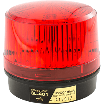 SL-401-R POTTER STROBE 60,000 CANDELA POWER OUTPUT RED ************************* SPECIAL ORDER ITEM NO RETURNS OR SUBJECT TO RESTOCK FEE *************************