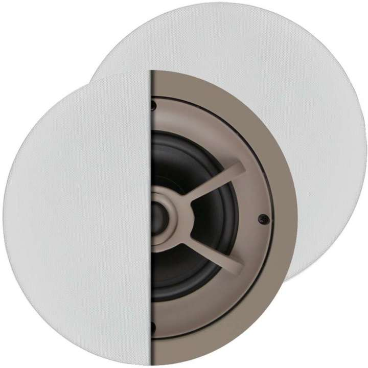 "C612 PROFICIENT Thin-Bezel 6.5"" Ceiling Speakers - PAIR PAS11612"