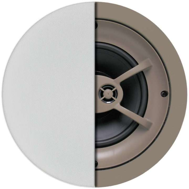 "C625TT PROFICIENT Thin-Bezel 6.5"" Single Stereo Ceiling Speaker - EA PAS12625"