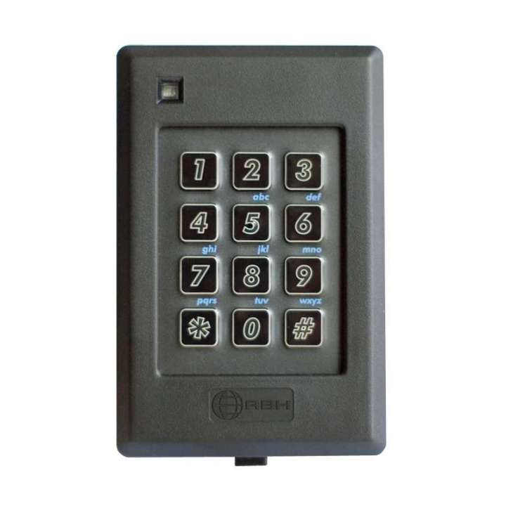 RBH-FK-640 RBHUSA KEYPAD WITH AWID PROX READER - SET 8/26 BIT VIA INCLUDED PROGRAMMING CARD ************************* SPECIAL ORDER ITEM NO RETURNS OR SUBJECT TO RESTOCK FEE *************************