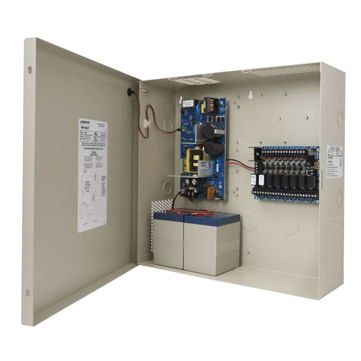 AQD6-8F8R SECURITRON ACCUPOWER 6 AMP POWER SUPPLY WITH 8 RELAYS AND 8 FUSED OUTPUTS ************************* SPECIAL ORDER ITEM NO RETURNS OR SUBJECT TO RESTOCK FEE *************************