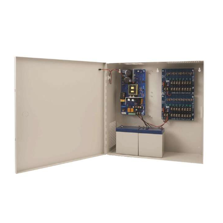 AQD6-8C1R SECURITRON Supervised Power Supply 12/24VDC 6Amps w/ Chgr - 8 PTC Out - FT ************************* SPECIAL ORDER ITEM NO RETURNS OR SUBJECT TO RESTOCK FEE *************************