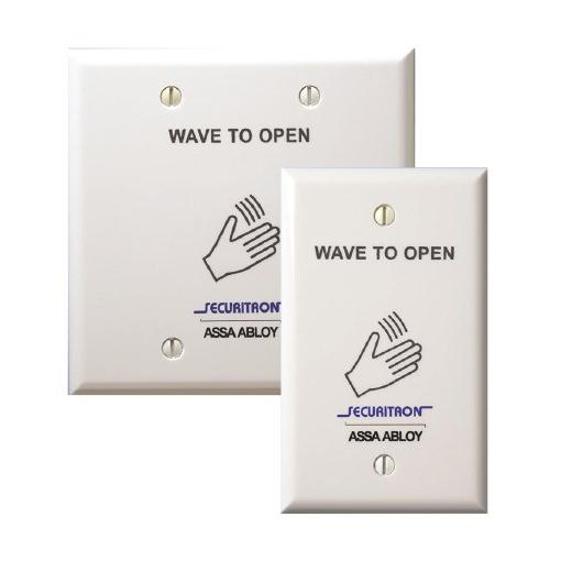WSS-W2 SECURITRON WHITE WAVE SENSE DOUBLE GANG ************************* SPECIAL ORDER ITEM NO RETURNS OR SUBJECT TO RESTOCK FEE *************************