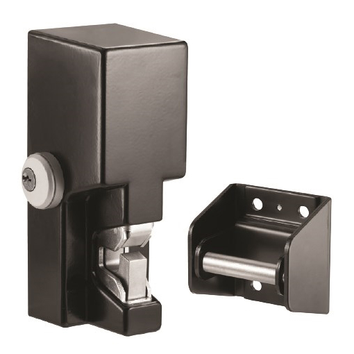 GL1-FL SECURITRON EL-MECH GATE LOCK 2000LB HOLDING FORCE DUAL VOLTAGE FAIL SECURE BLACK ************************* SPECIAL ORDER ITEM NO RETURNS OR SUBJECT TO RESTOCK FEE *************************
