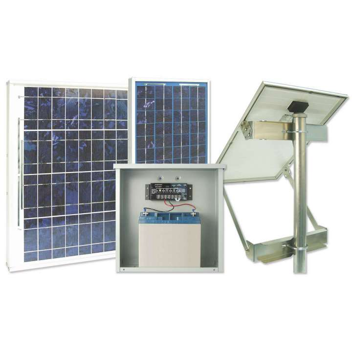 BPSS-20 SECURITRON SOLAR POWER SUPPLY-12V W/20W SOLAR PANEL AND 18AH BATTERY ************************* SPECIAL ORDER ITEM NO RETURNS OR SUBJECT TO RESTOCK FEE *************************