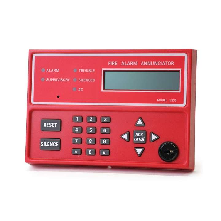 SK5235 SILENT KNIGHT LCD REMOTE ANNUNCIATOR FOR THE SK5208