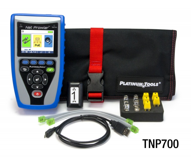 TNP700 PLATINUM TOOLS Net Prowler Tester. Box. ************************* SPECIAL ORDER ITEM NO RETURNS OR SUBJECT TO RESTOCK FEE *************************