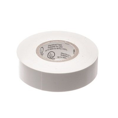 ELECTRICALTAPE WHT TANE (UL) ELECTRICAL TAPE WHITE