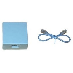 TJ-8DUAL TANE RJ 31X Block and Cord with dual jack (Double Ended)
