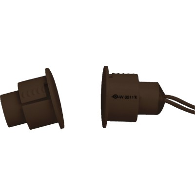"""SD-70WGBR TANE 3/4"""" STEEL DOOR RECESS CONTACT WIDE GAP BROWN ************************* SPECIAL ORDER ITEM NO RETURNS OR SUBJECT TO RESTOCK FEE *************************"""