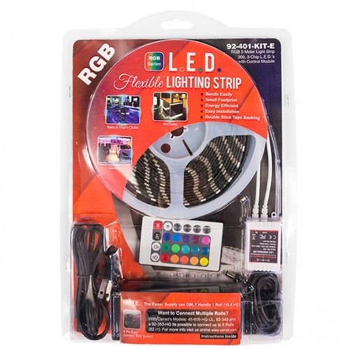 92-401-WW-KIT CALRAD WARM WHITE LED LIGHT STRIP KIT ************************* SPECIAL ORDER ITEM NO RETURNS OR SUBJECT TO RESTOCK FEE *************************