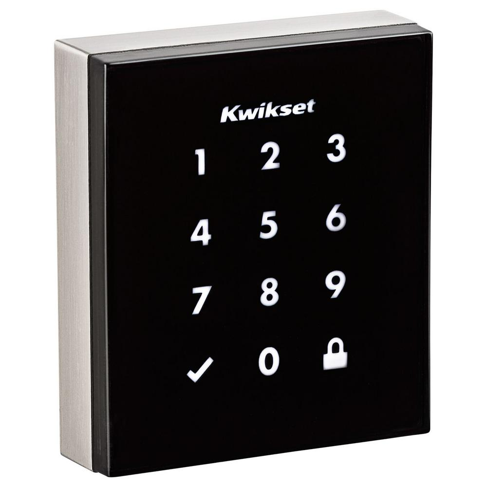99540-001 KWIKSET Obsidian with Z-Wave-Touch-Screen Nickel
