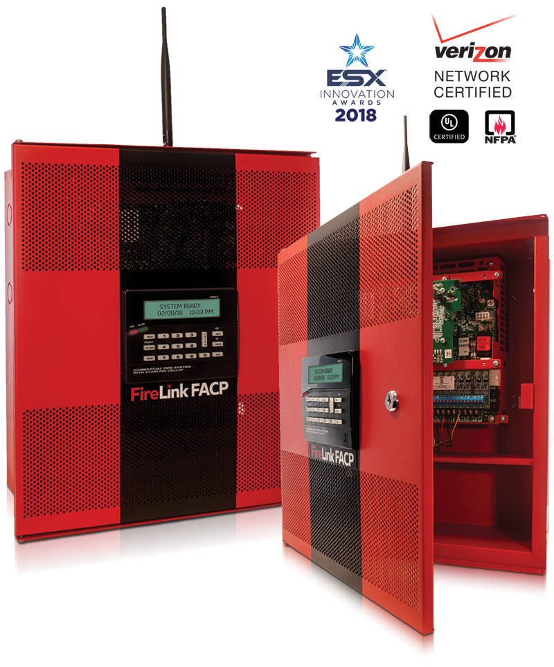 FL-32FACP NAPCO Integrated Fire Alarm Control Panel & Dual Path Communicator. Includes integrated Annunciator ************************* SPECIAL ORDER ITEM NO RETURNS OR SUBJECT TO RESTOCK FEE *************************