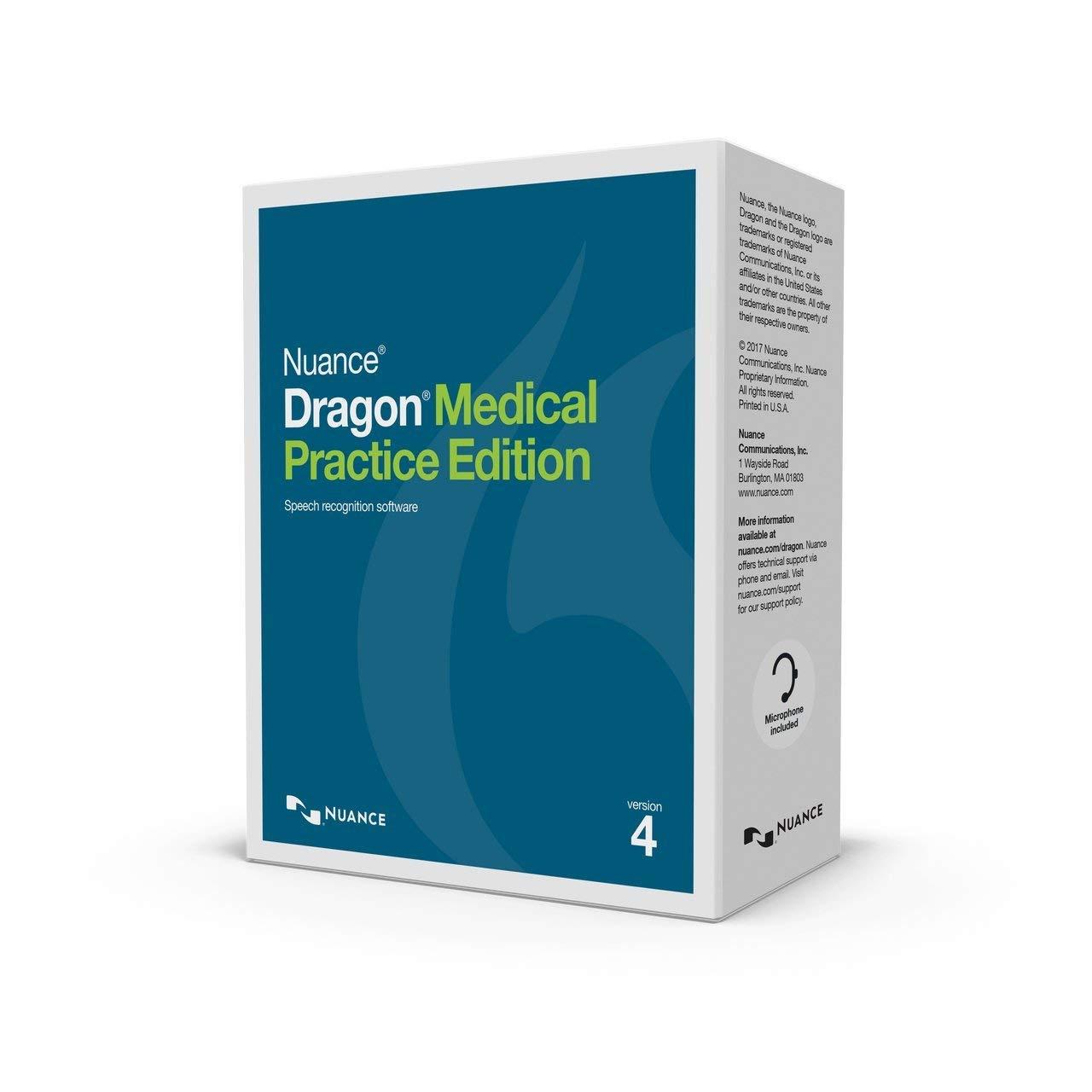 NUA-SN-A709A-X00-4.0 DRAGON MEDICAL PRACTICE EDITION 4 **NON-PHYSICAL PRODUCT**