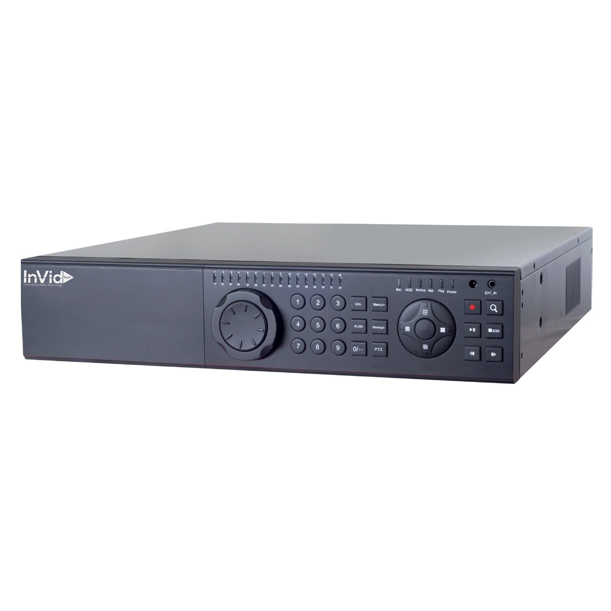 PN1A-32X16 INVID 32 Channel NVR with 16 Plug & Play Ports. No hard drive.