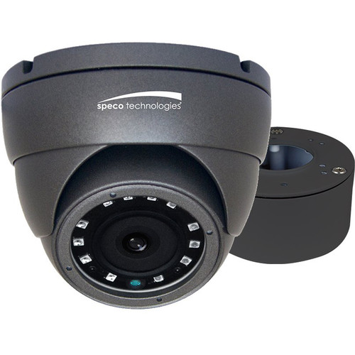 VLDT4G SPECO 2MP HD-TVI Eyeball Camera with Junction Box, 3.6mm fixed lens, dark gray housing ************************* SPECIAL ORDER ITEM NO RETURNS OR SUBJECT TO RESTOCK FEE *************************
