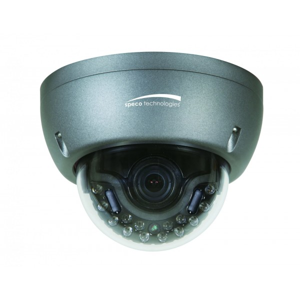 HT5943T SPECO HD-TVI 3MP VANDAL DOME IR 2.8-12MM DUAL VOLTAGE ************************* SPECIAL ORDER ITEM NO RETURNS OR SUBJECT TO RESTOCK FEE *************************