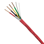 42035504 GENESIS CABLE 18/4 SOLID OVERALL SHIELDED (UL)/ FPL 500' PULL BOX RED ************************* SPECIAL ORDER ITEM NO RETURNS OR SUBJECT TO RESTOCK FEE *************************