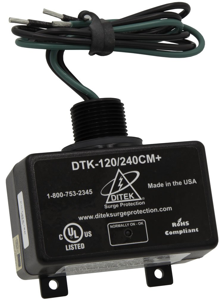 DTK-120/240CM+ DITEK 120/240V SINGLE PHASE ARRESTER W/ LED DIAGNOSTICS ************************* SPECIAL ORDER ITEM NO RETURNS OR SUBJECT TO RESTOCK FEE *************************