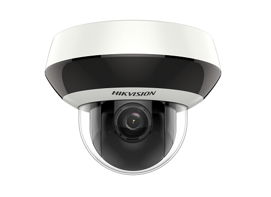 DS-2DE2A204W-DE3 HIKVISION Indoor PTZ, 2MP, 4x lens, 265+, 120 dB WDR, PTZ Suite Analytics, IP66, IK10, PoE/12VDC, 8W