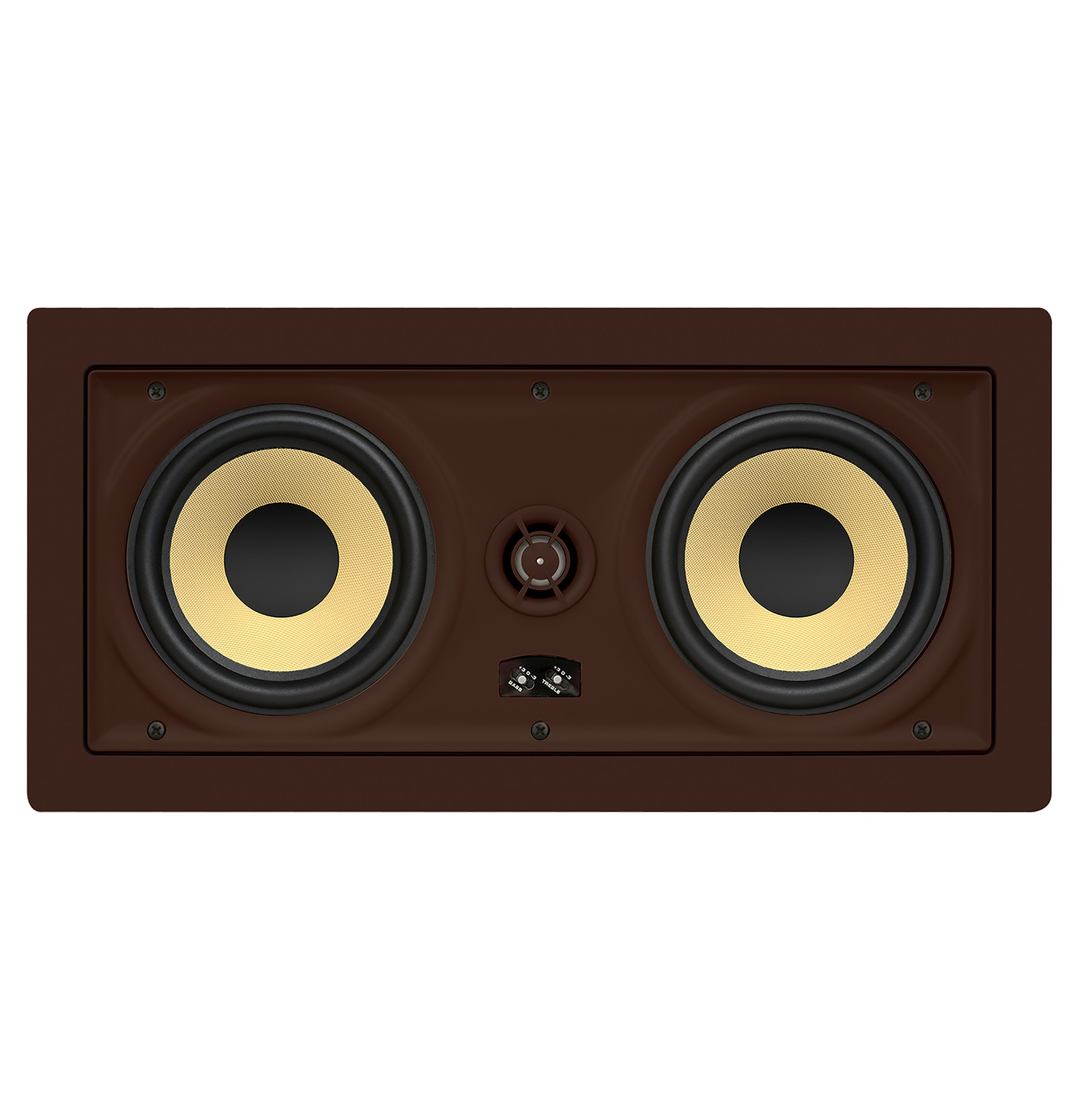 IW575s PROFICIENT Thin-Bezel Dual 5.25' Inwall LCR Speaker