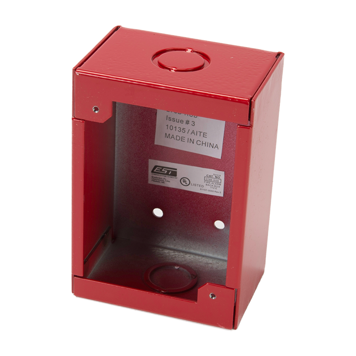 ED276B-RSB EDWARDS PULL STATION ACCESSORY, SURFACE MT. MOUNTING BOX, 278/FX-278 LEXAN SERIES ************************* SPECIAL ORDER ITEM NO RETURNS OR SUBJECT TO RESTOCK FEE *************************