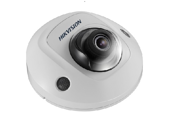 DS-2CD2555FWD-IS2.8MM HIKVISION Compact Dome, 5MP, H265+, 2.8mm, Day/Night, 120dB WDR, IR (10m), Basic Smart Suite2, IP66/IK8, PoE/12VDC